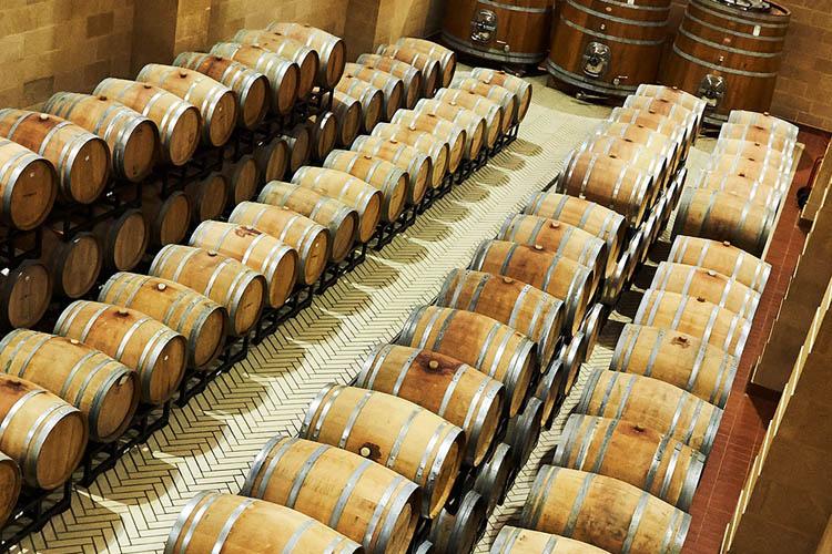 Tenute Rubino wijnkelder