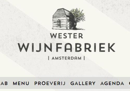 Wester Wijnfabriek in Amsterdam